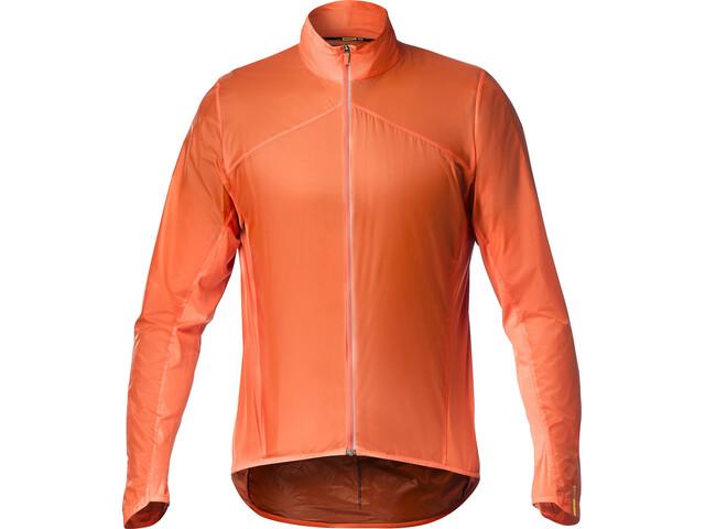 Mavic Sirocco SL Chaqueta Hombre, red-orange